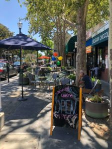 Downtown Walnut Creek businesses are open